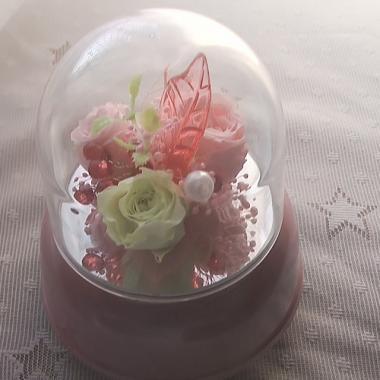 武蔵野公会堂に贈るオルゴール付き「ピンク」